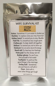 Wife Survival Kit