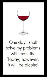 One day I shall solve my problems...