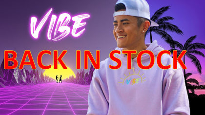 Collection of Vibe merch based on the viral hit Ireland Boys song VIBE. Ft Ricky Ireland , NCK and DJ Faboloso