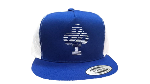 IBP Blue snap back hat Speed Logo
