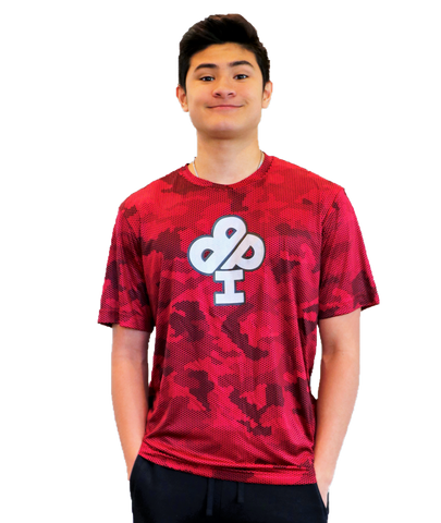 FIRE & ICE Camo Dry-Fit T-Shirt -Youth and Adult sizes