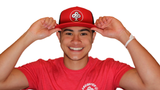 Classic IBP logo on Red and Black Trucker Hat