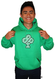 Ireland Boys Productions Cloverflage Hoodie for sale by Ricky and Nick Ireland from Ireland Boys Productions merch on youtube