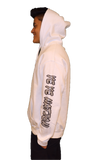 Cotton Hoodie WHITE  Featuring the FROST Silver IBP Logo Youth and Adult