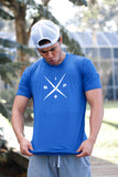 """X"" Logo 2.0 T-Shirt - White/ Blue/ Red/ Green"