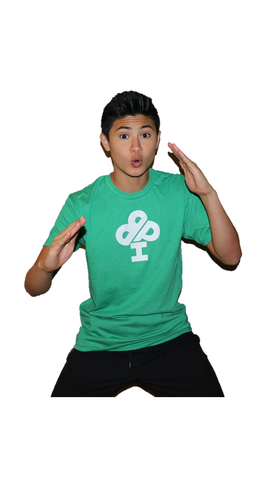 CLASSIC IBP Logo Kelly GREEN T-Shirt - short sleeve Youth and Adult sizes