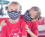 IBP face mask from Ireland Boys Productions YouTube channel as worn by Johnson Twin Girls