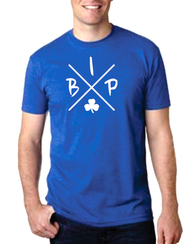 "Youth ROYAL BLUE T-Shirt - short sleeve - IBP ""X""  Logo"