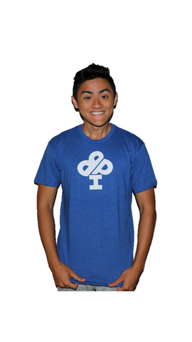 Classic IBP Logo Royal BLUE T-Shirt - short sleeve - Youth and Adult sizes