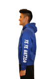 "PREMIUM DRY FIT Hoodie Royal Blue Sport-Tek  featuring the NEW ""X"" Logo ADULT"