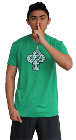SPECIAL St. Patricks  CLOVERFLAGE T-Shirt