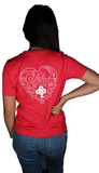 Girls unisex t-shirt Ireland boys productions YouTube  heart logo for valentines day