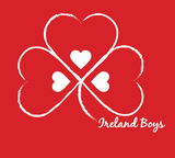 SPECIAL I Heart Ireland Boys Red T-Shirt -youth and adult sizes