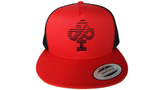 ". IBP  ""SPEED""  Logo IBP logo on Red and Black Trucker Hat"