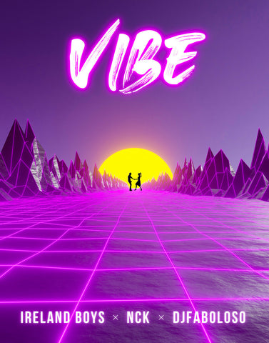 Live the VIBE lifestyle with high-quality apparel from YouTubers Ricky Ireland and Nick Ireland of Ireland Boys Productions. ft This VIBE poster, as seen in the viral music video VIBE. VIBE away, FLY away.