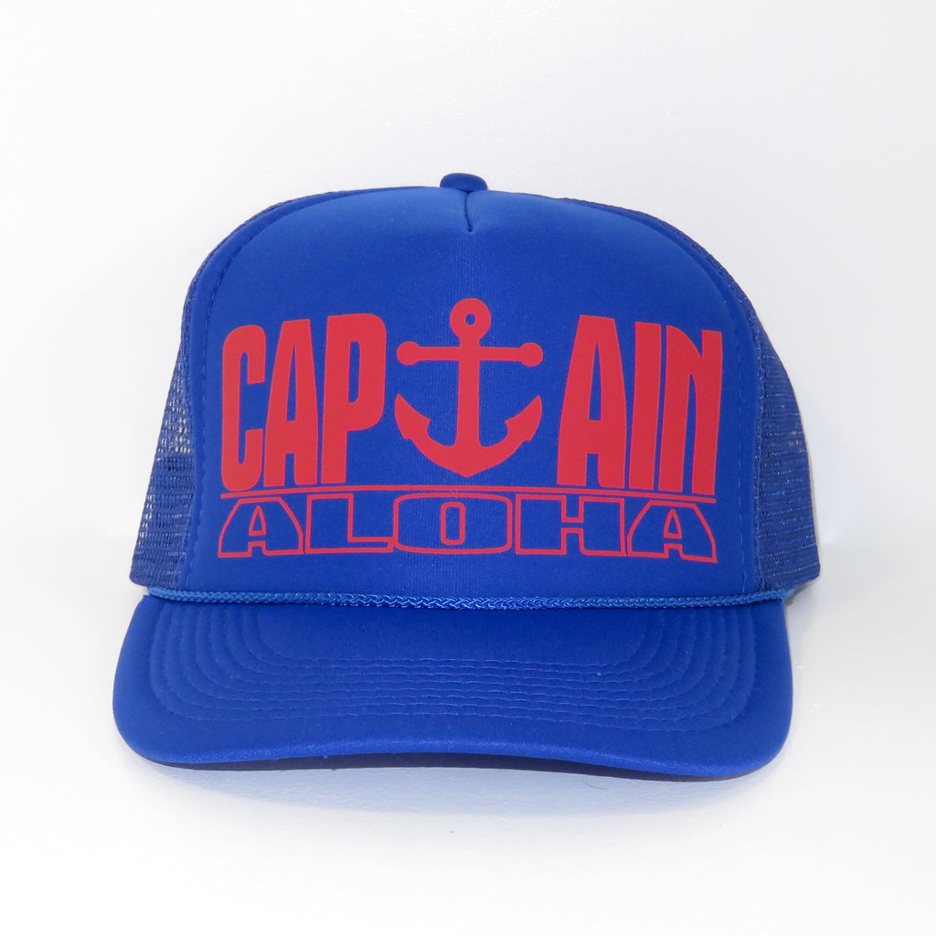 Captain Aloha Trucker Hat