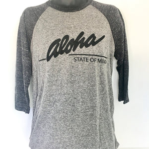 Men's Aloha State of Mind 3/4 Raglan