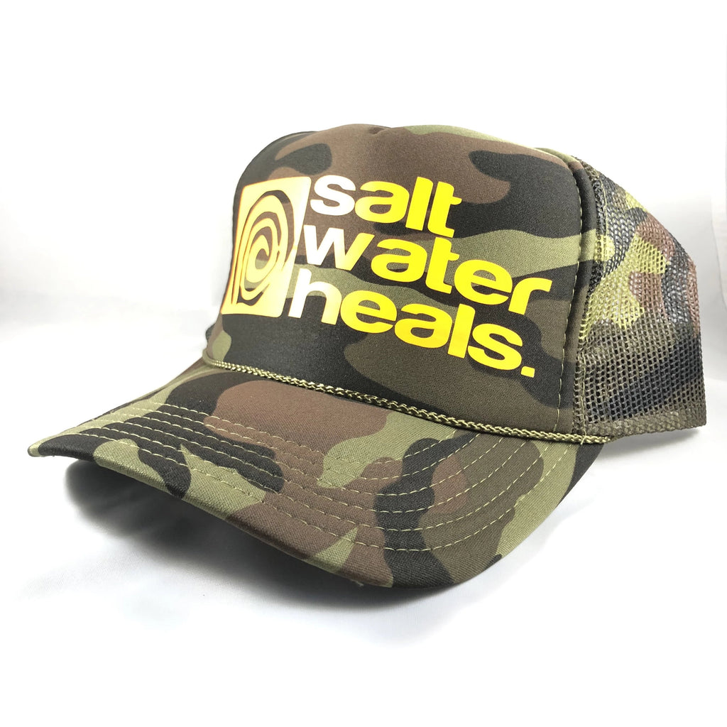 Salt Water Heals Trucker