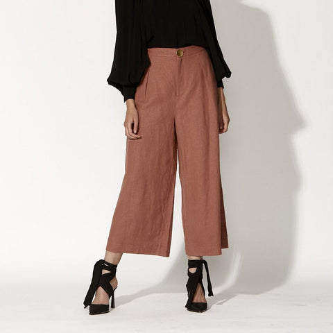 FATE+BECKER VANISHING POINT PANT ROSEWOOD
