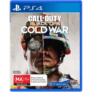 PS4 CALL OF DUTY BLACK OPS COLD WAR