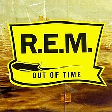 R.E.M OUT OF TIME LP