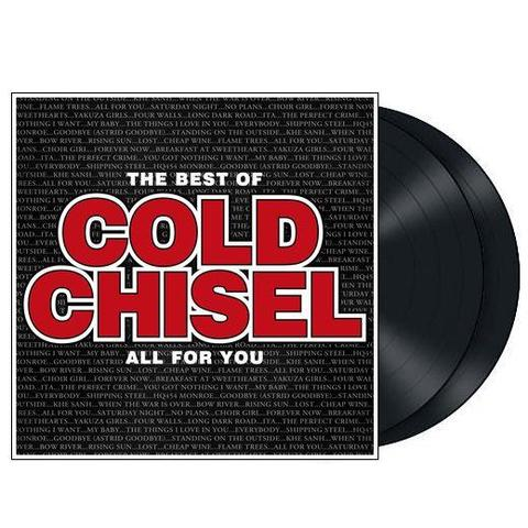 COLD CHISEL BEST OF ALL FOR YOU LP