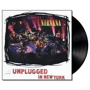 NIRVANA MTV UNPLUGGED BACK TO BLACK LP