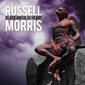 RUSSELL MORRIS BLACK AND BLUE HEART LP