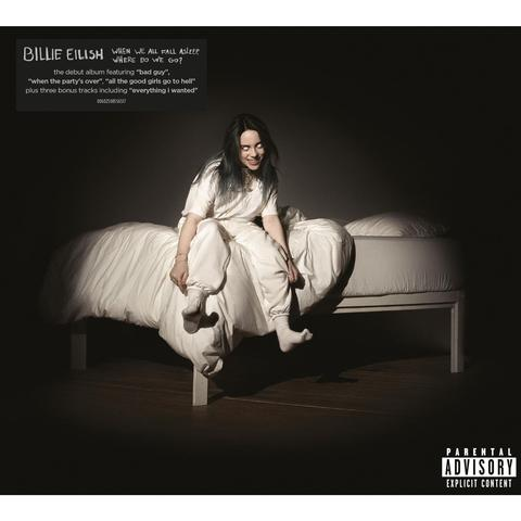 BILLIE EILISH WHEN WE ALL FALL ASLEEP WHERE DO WE GO LP
