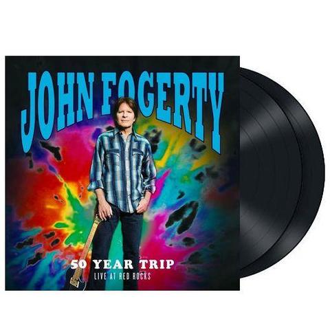 JOHN FOGERTY 50 YEAR TRIP LIVE AT RED ROCKS LP