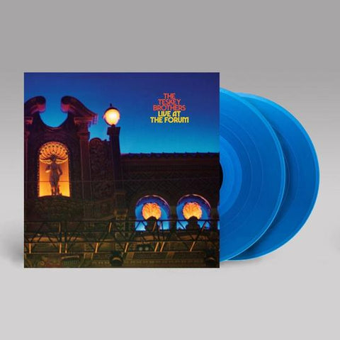 THE TESKEY BROTHERS LIVE AT THE FORUM BLUE 2LP