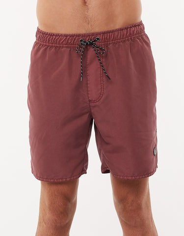 ST GOLIATH ILLUSION SHORT BURGANDY