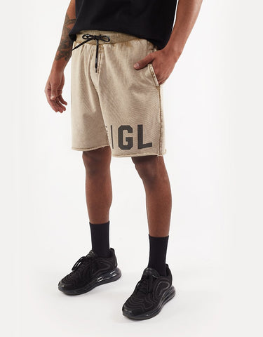 ST GOLIATH LEGION FLEECE SHORT SAND