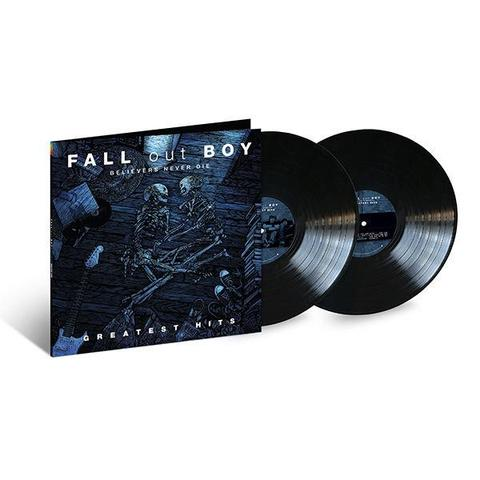 FALL OUT BOY GREATEST HITS BELIEVERS NEVER DIE LP