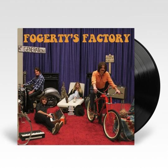 JOHN FOGERTY FOGERTY'S FACTORY LP