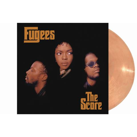 FUGEES THE SCORE ORANGE COLOURED LP
