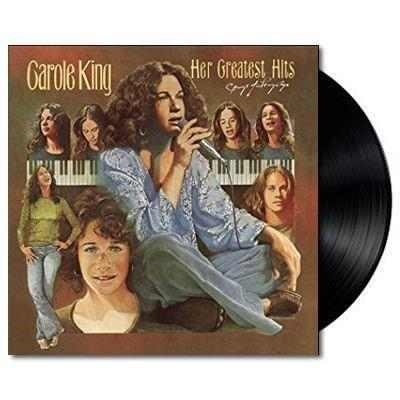 CAROLE KING HER GREATEST HITS LP