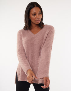 ALL ABOUT EVE HAZEL KNIT PINK