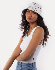 ALL ABOUT EVE BUTTERFLY BUCKET HAT