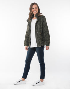 ELM WILD AT HEART JACKET KHAKI