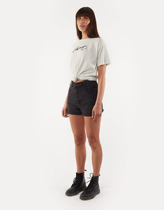 SILENT THEORY CAGED TIE TEE MINT