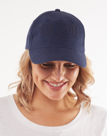 ELM FUNDAMENTAL CAP NAVY