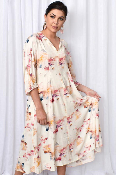 FATE+BECKER MEET ME IN ST LOUIS DRESS FLORAL PRINT