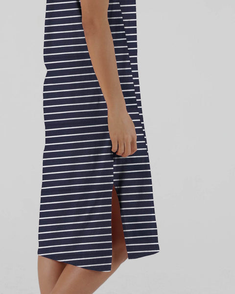 BETTY BASICS ARWIN DRESS NAUTICAL