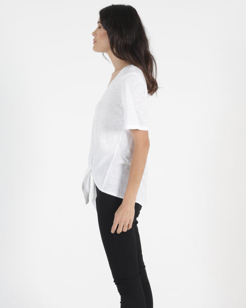 BETTY BASICS SAN JOSE TEE WHITE
