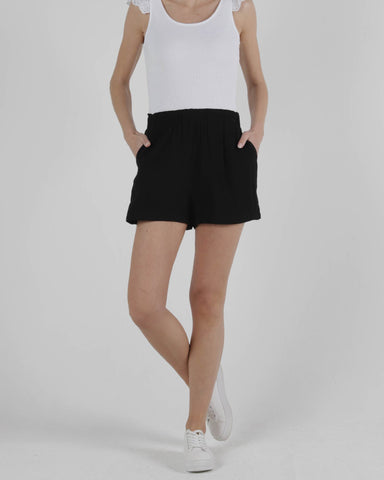 SASS CAMILLE SHORT BLACK