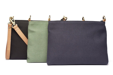 RUGGED HIDE ATHENA CANVAS POUCH