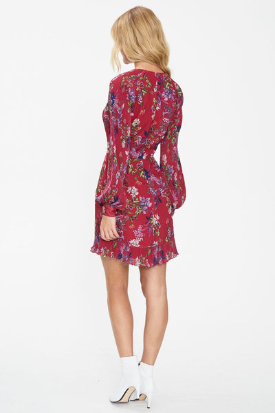 ELEMENTS LONG SLEEVE MINI DRESS
