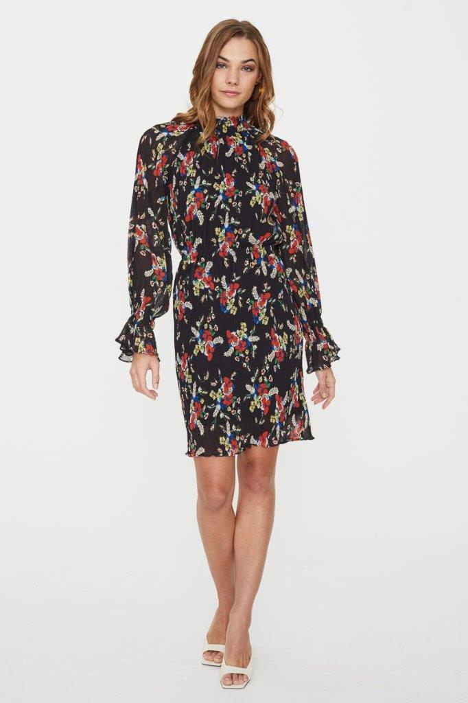 COOPER ST ROXY LONG SLEEVE MINI DRESS