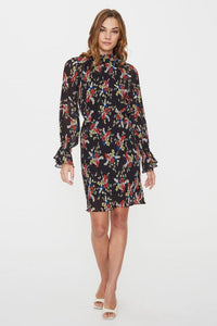 ROXY LONG SLEEVE MINI DRESS